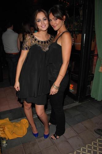 Leighton & Minka Kelly at EW party