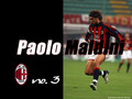 Maldini: Number 3 - paolo-maldini wallpaper