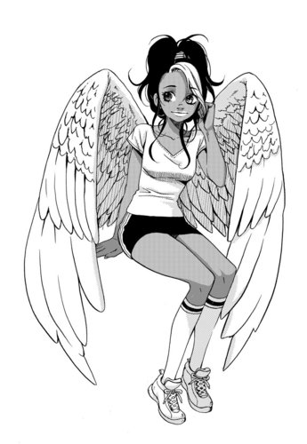 Maximum Ride Hintergrund entitled Manga Nudge