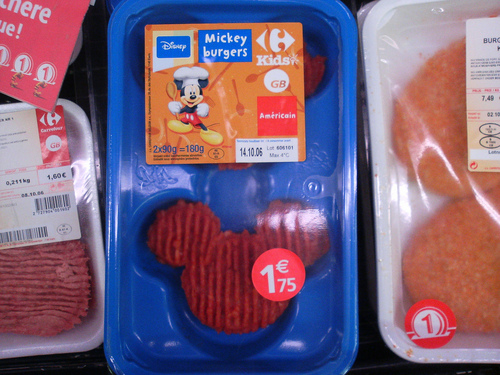 Mickey Mouse burgers