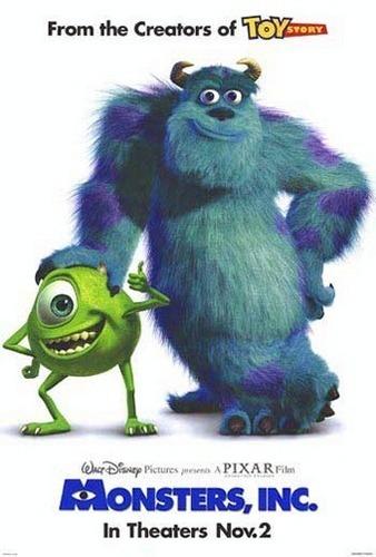 Monsters Inc Stars