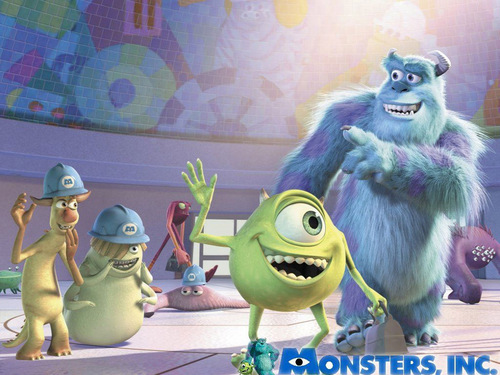 Monsters, Inc. kertas dinding