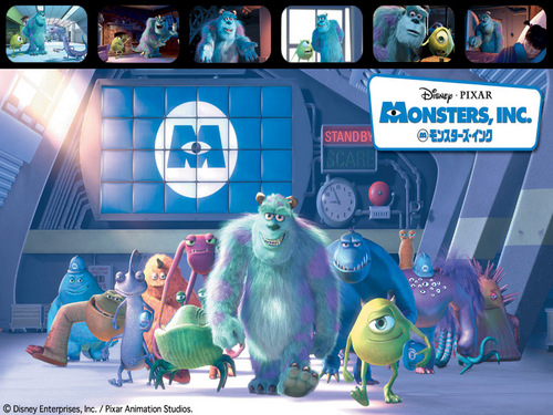Monsters, Inc. 壁纸