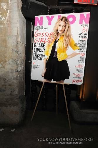 NYLON Young Hollywood dinner& party hosted দ্বারা Blake & Leighton