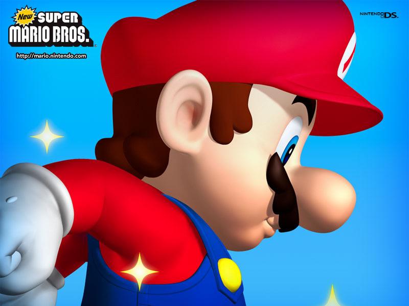 New Super Mario Bros  - nintendo DS fondo de pantalla
