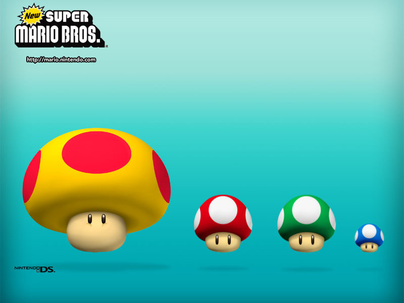 mario bros wallpaper. New Super Mario Bros.
