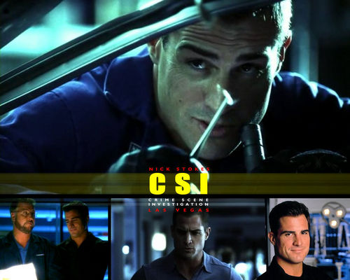 CSI wallpaper probably containing a diner called Nick