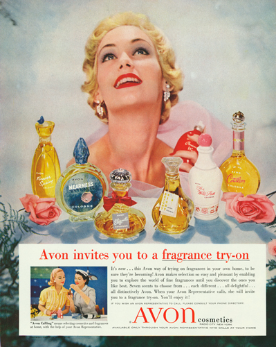 Old Avon advertisement