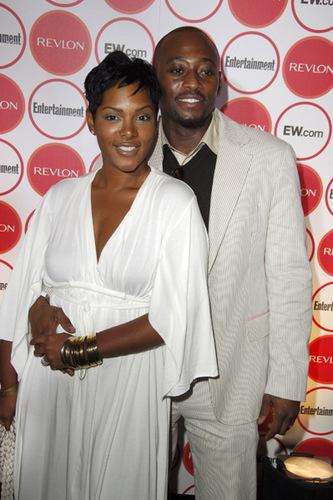 Omar Epps and his wife Keisha Spivey.