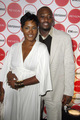 Omar Epps and his wife Keisha Spivey.