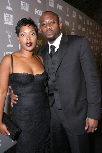 Omar Epps and his wife Keisha Spivey