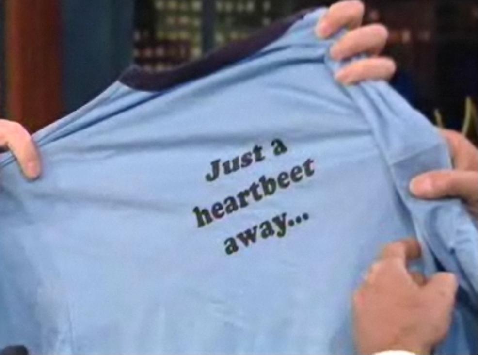Part B of Dwight Vice-President T-Shirt
