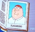 Peter &quot;Plagiarismo&quot; - the-simpsons-vs-family-guy photo