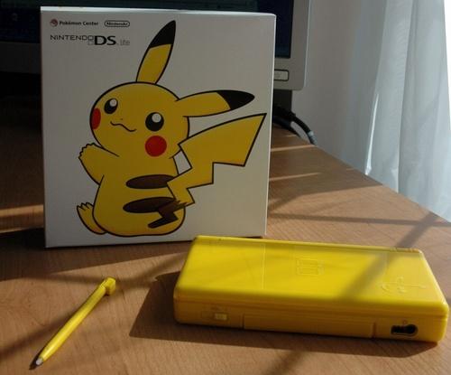 Pikachu DS Lite