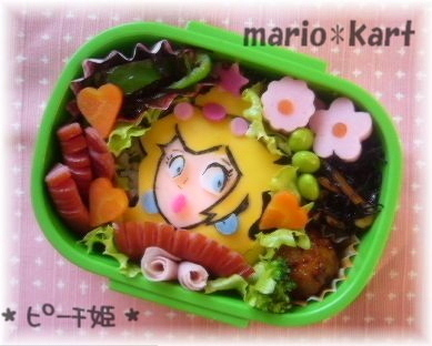 Princess Peach bento
