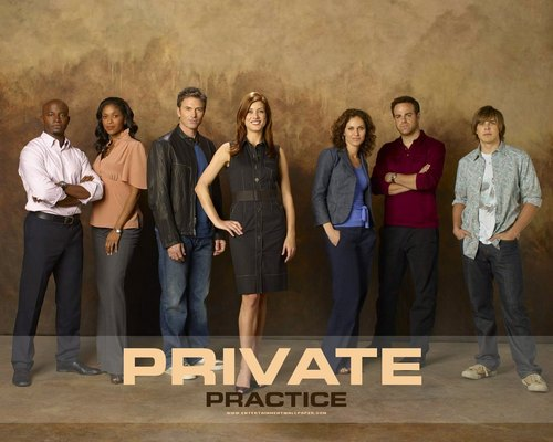 Private Practice 壁紙 with a business suit titled Private Practice