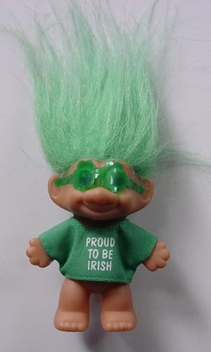 Proud To Be Irish Troll Doll