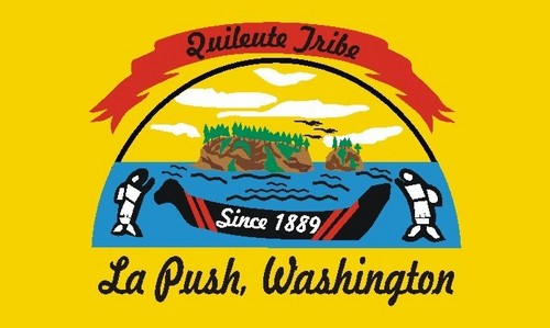 Quileute Tribe Flag