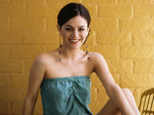 rachel bilson wallpaper possibly with a koktil, koktail dress entitled Rachel