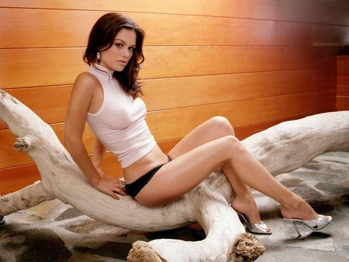 Rachel Bilson wallpaper probably with tights and a leotard entitled Rachel