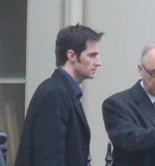 Richard Filming Spooks in London