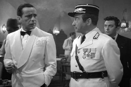 Casablanca wallpaper titled Rick & Captain Renault
