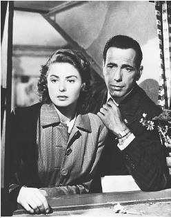 Casablanca wallpaper possibly with a sign entitled Rick & Ilse