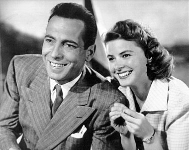 Casablanca wallpaper with a business suit entitled Rick & Ilse
