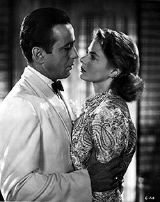 Casablanca wallpaper probably with a business suit called Rick & Ilse
