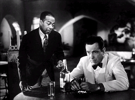 Casablanca wallpaper with a business suit entitled Rick & Sam