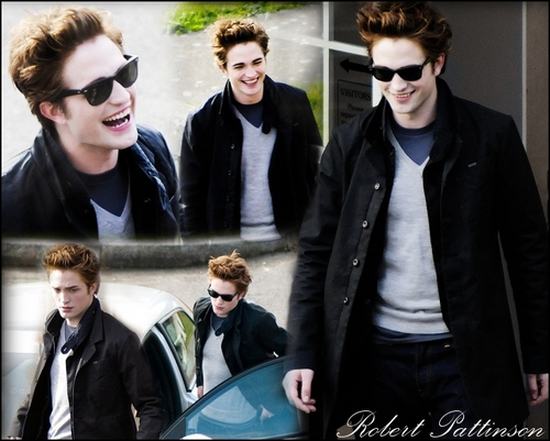 Robert Pattinson Hintergrund containing sunglasses and a business suit called Robert Pattinson Blend
