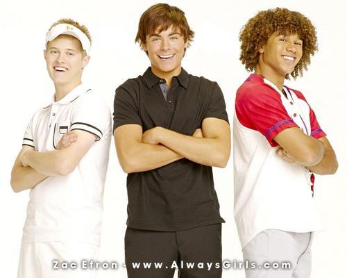 Ryan, Troy & Chad