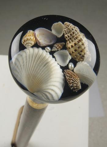Seashell Handled Cane
