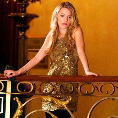 Actress Blake Lively in the hit TV series Gossip Girl