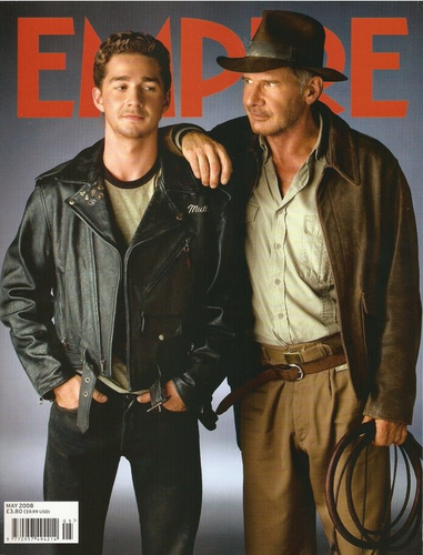 Shia and Harrison - indiana-jones Photo