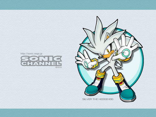 Silver the Hedgehog wallpaper possibly with Anime titled Silver wallpaper