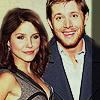 Jensen Ackles photo with a portrait called Sophia Bush & Jensen Ackles