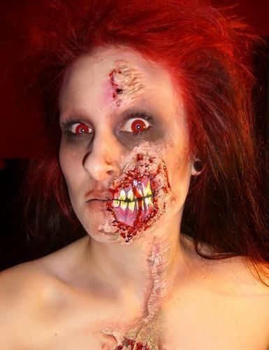 Halloween images Spooky Makeup wallpaper and background photos