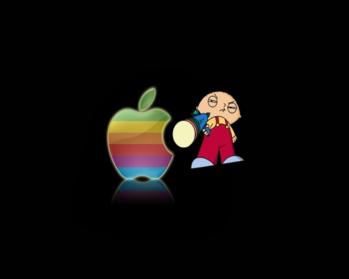 Stewie hates Mac! - family-guy Wallpaper