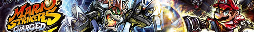 Super Mario Strikers Charged banner