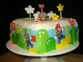 Super Mario cake - nintendo photo