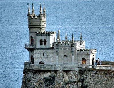 Swallow's castle, Ukraine