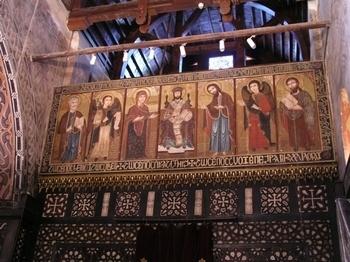 The hanging church, Cairo, Egypt