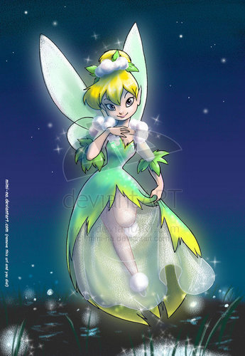 Classic Disney hình nền with anime entitled tinkerbell