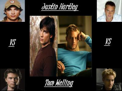 Tom Welling Vs. Justin Hatley