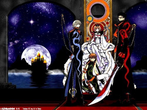 Tsubasa: Reservoir Chronicles wallpaper with anime titled Tsubasa