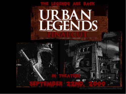 Urban Legends 2: The Final Cut
