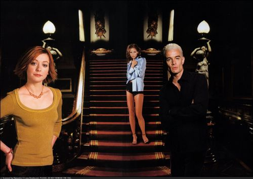 Willow,Buffy & Spike