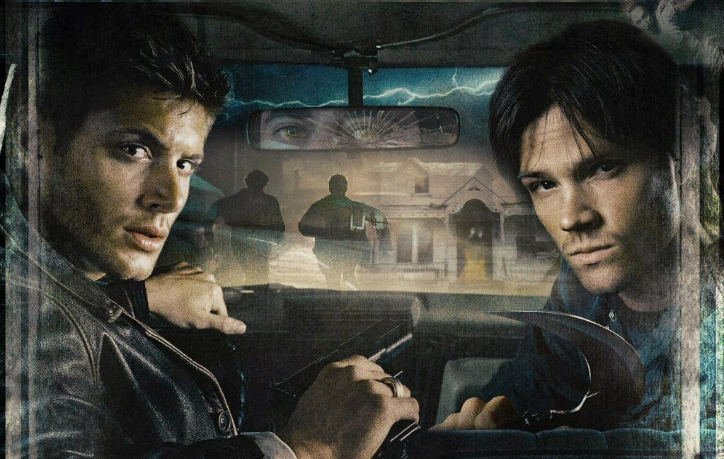 Winchesters in the Impala