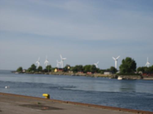 Keep Earth Green پیپر وال called Wind Farm